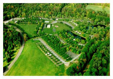 Overhead View of JD Campground - Click to Enlarge
